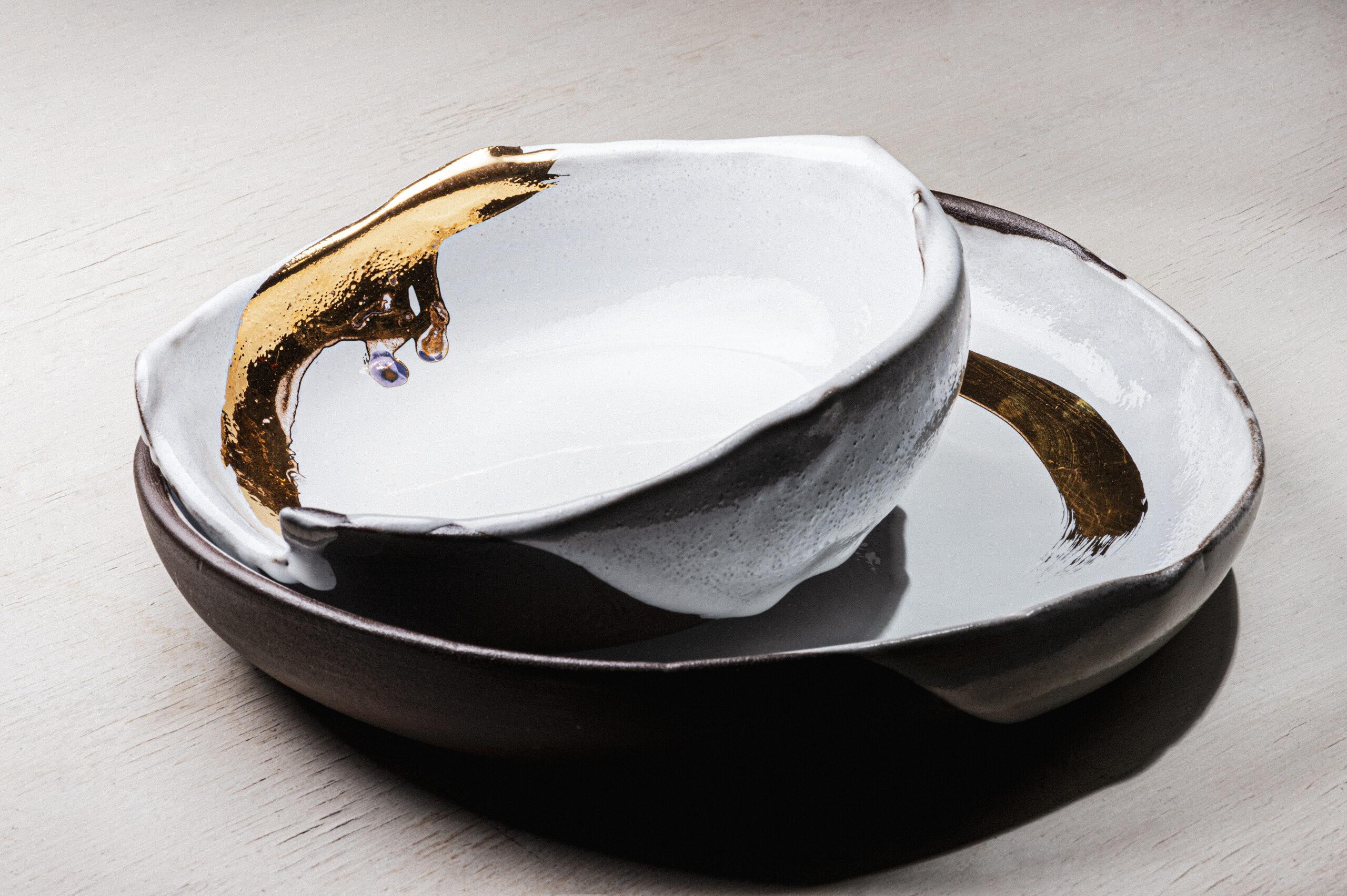 Schale Gold